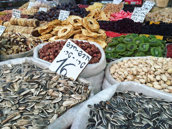 open air market spices